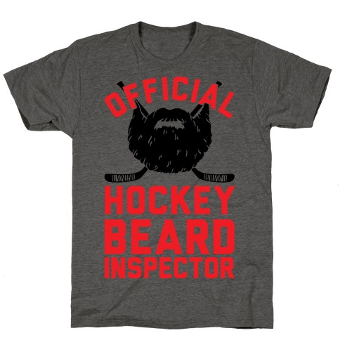 Official Hockey Beard Inspector T-Shirt