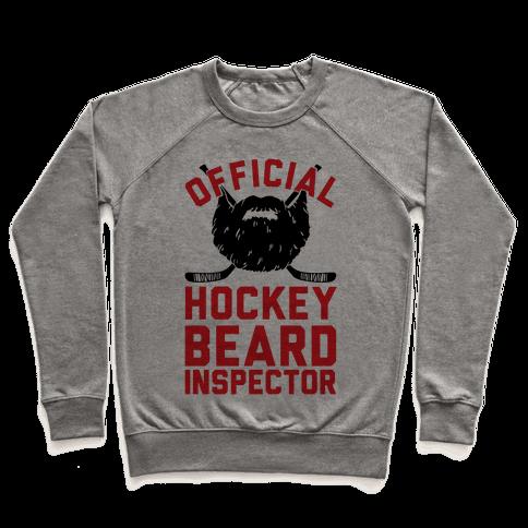 Official Hockey Beard Inspector Pullover