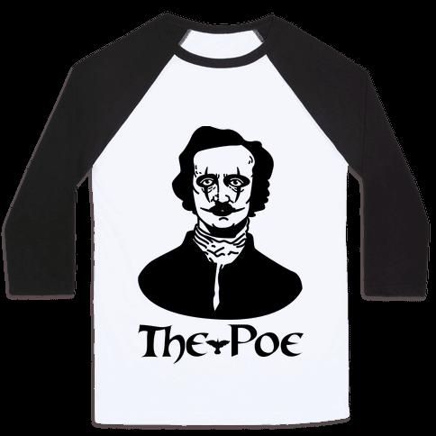 The Poe Baseball Tee