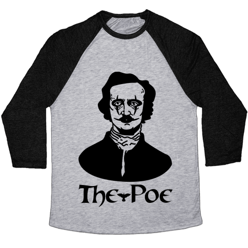 The Poe Baseball Tee