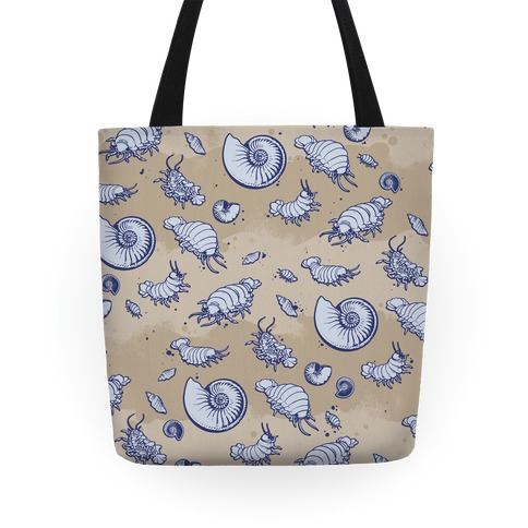 Giant Isopod Pattern Tote Tote