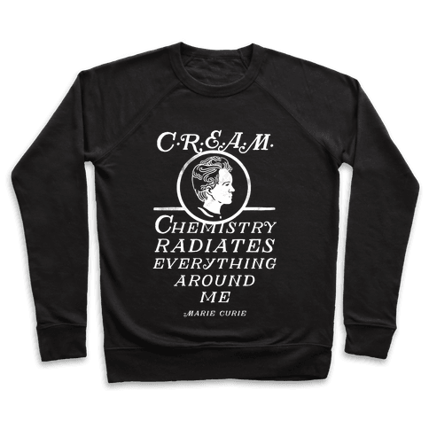 Marie Curie C.R.E.A.M. Pullover