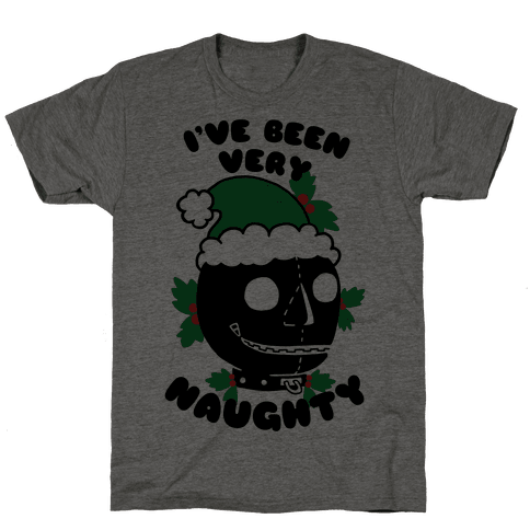 I've Been Very Naughty Mens T-Shirt