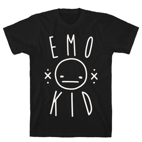 Emo Kid Mens T-Shirt