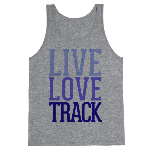 Live Love Track Tank Top