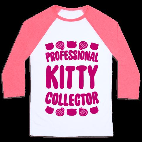 Professional Kitty Collector Baseball Tee