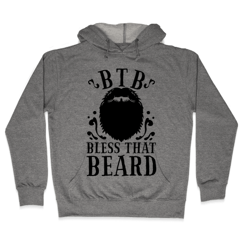 Bless That Beard Hooded Sweatshirt
