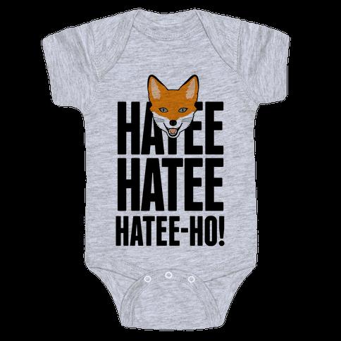 Hatee-Ho Fox Call Baby Onesy