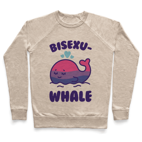 Bisexu-WHALE Pullover