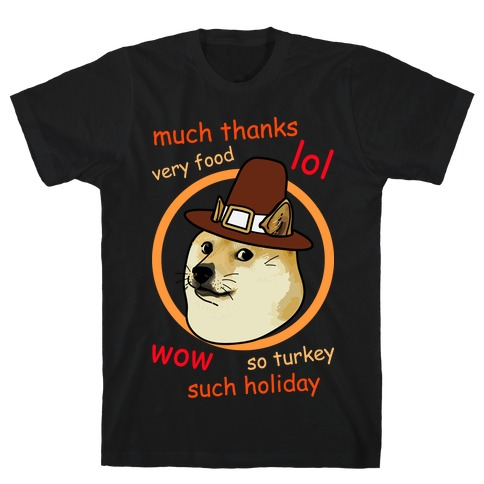 Doge Thanksgiving Mens T-Shirt