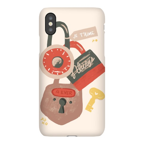 Paris Love Locks Phone Case