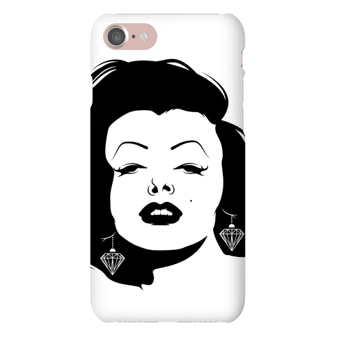 Marilyn Face Phone Case