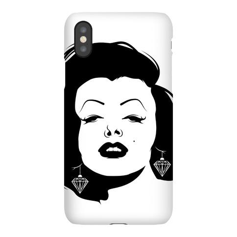 Marilyn Face Phone Case