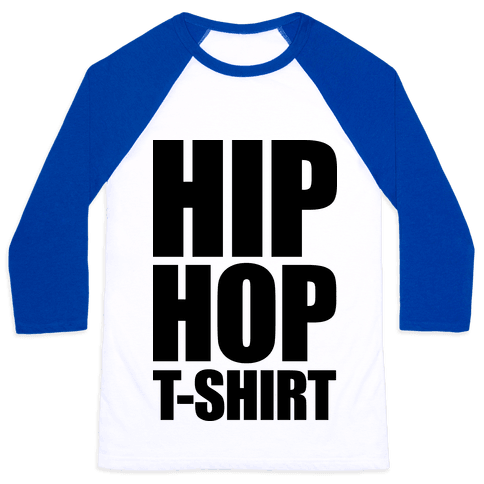 Hip Hop T-Shirt Baseball Tee
