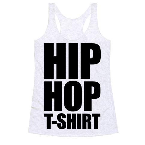 Hip Hop T-Shirt Racerback Tank Top