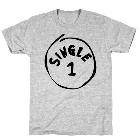 Single 1 Mens T-Shirt