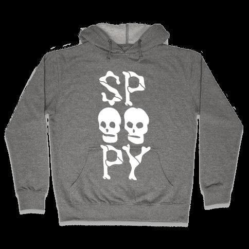 Spoopy Hooded Sweatshirt