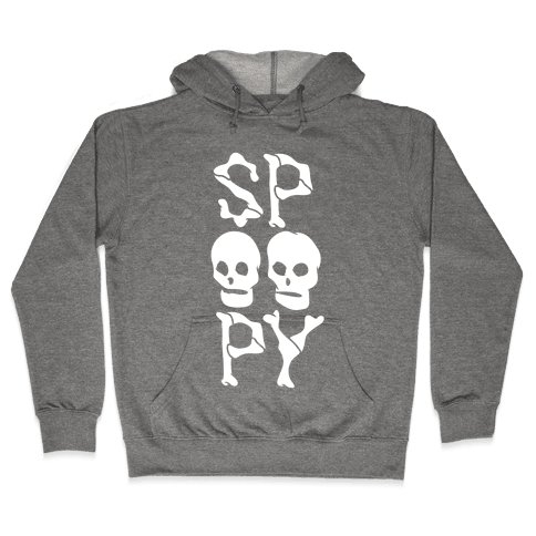 Spoopy Hooded Sweatshirt