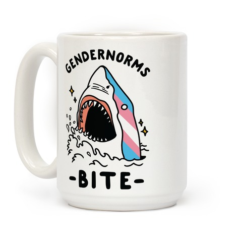 Gendernorms Bite Trans Coffee Mug