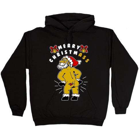 Merry ChristmAss Hooded Sweatshirt
