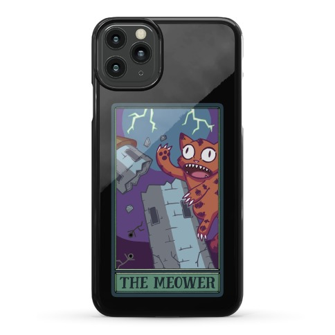 The Meower Tarot Card Phone Case