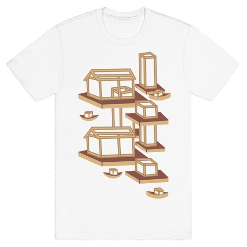 Floating Lantern City T-Shirt