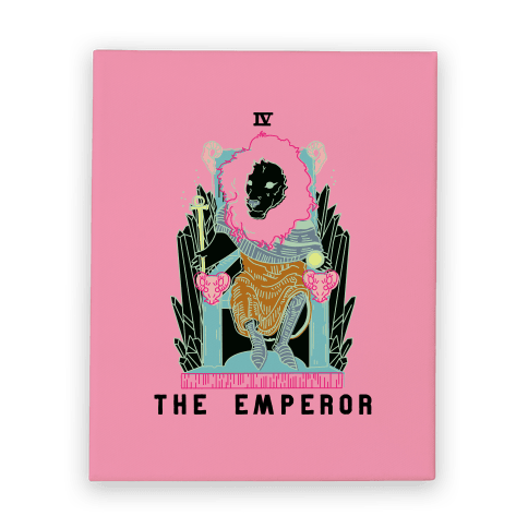 The Emperor Lion Canvas Print