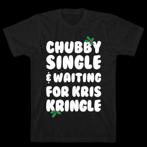 Chubby Christmas Mens T-Shirt