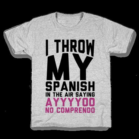 Spanish Homework Kids T-Shirt