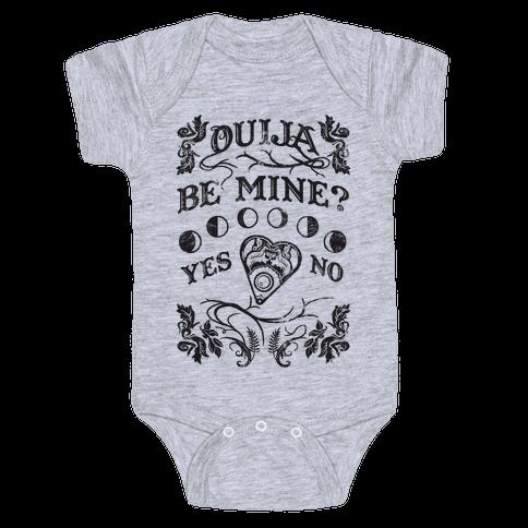 Ouija Be Mine? Baby Onesy