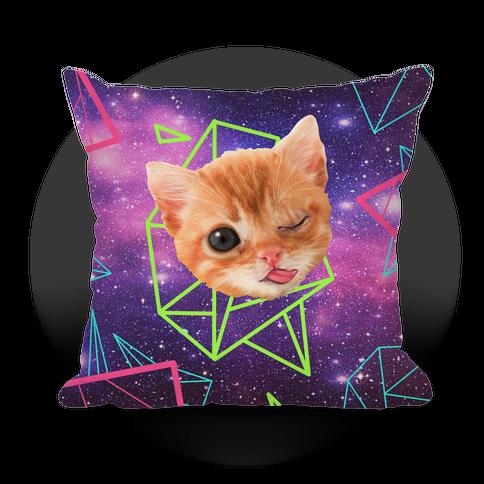 Miley Cat Head Pillow