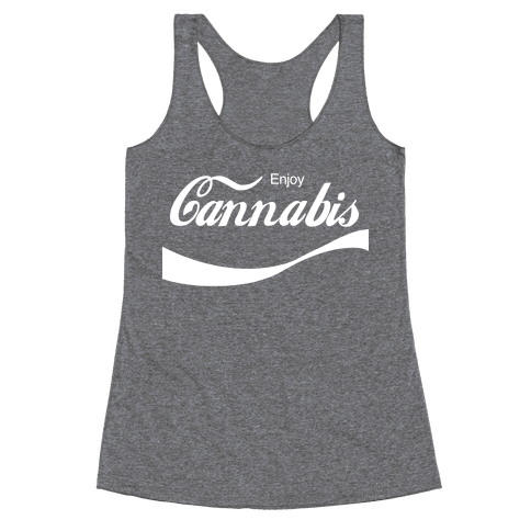 Enjoy Cannabis Racerback Tank Top