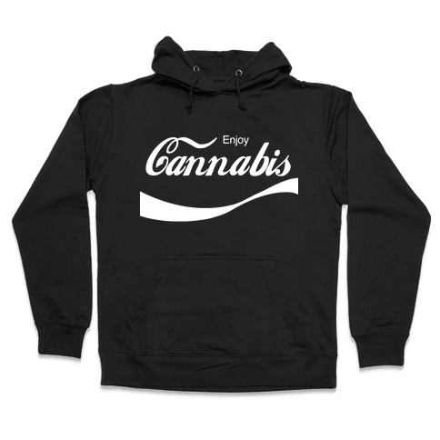 Enjoy Cannabis Hooded Sweatshirt