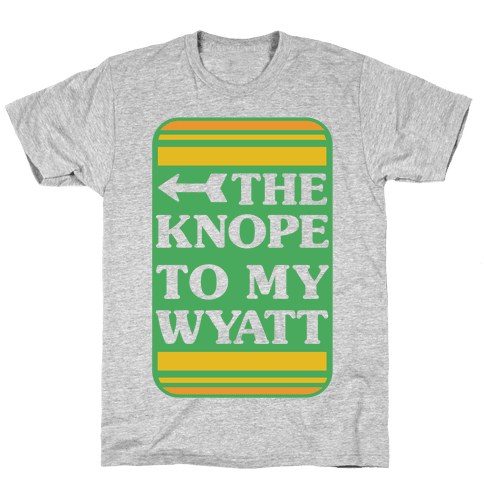 The Knope To My Wyatt Mens T-Shirt