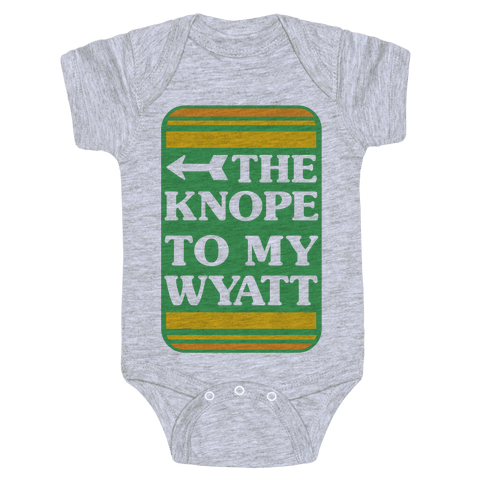 The Knope To My Wyatt Baby Onesy