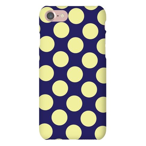 Yellow Polka Dot Case Phone Case