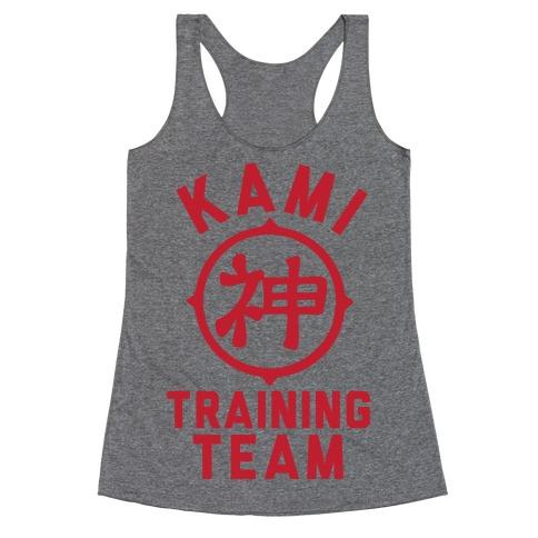 Kami Training Team Racerback Tank Top