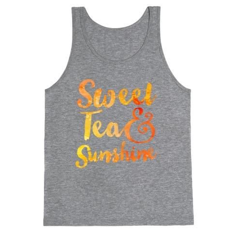 Sweet Tea & Sunshine Tank Top