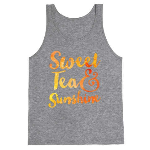 Sweet Tea & Sunshine Tank Top