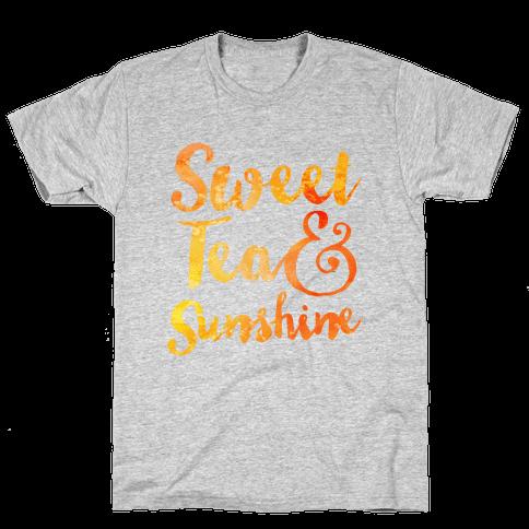 Sweet Tea & Sunshine Mens T-Shirt