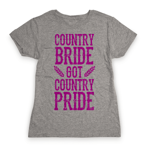 Country Bride Womens T-Shirt