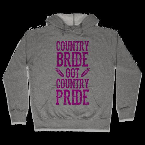 Country Bride Hooded Sweatshirt