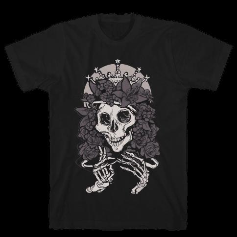 Mother's Lovely Skull Mens T-Shirt