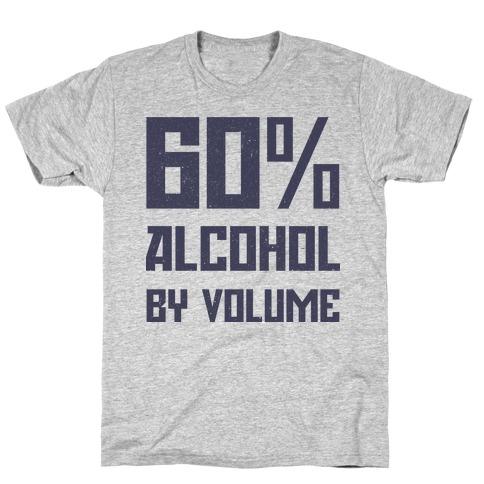 Alcohol Content T-Shirt
