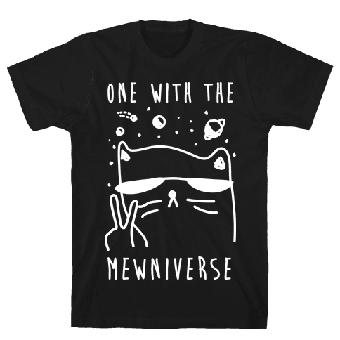 One With The Mewniverse Mens T-Shirt