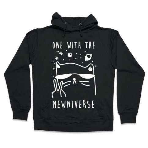 One With The Mewniverse Hooded Sweatshirt