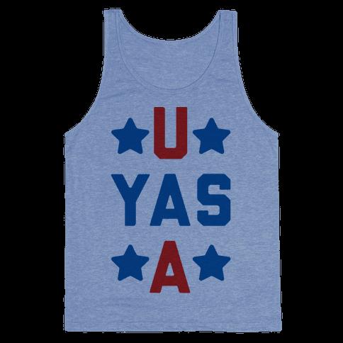 U Yas A Tank Top