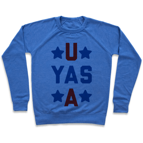 U Yas A Pullover