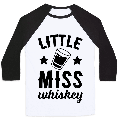 Little Miss Whiskey Baseball Tee