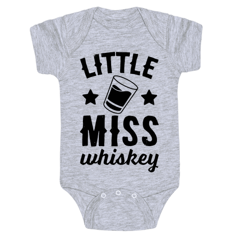 Little Miss Whiskey Baby Onesy
